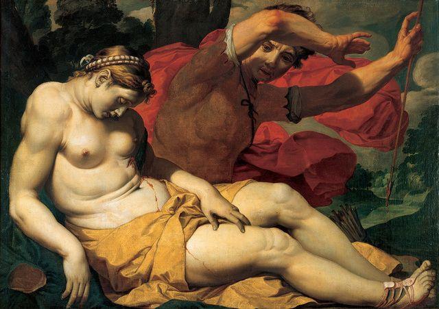 Rubens, Van Dyke, and Jordaens - Flemish Painters from the Hermitage: Cephalus and Procris, 1610-20