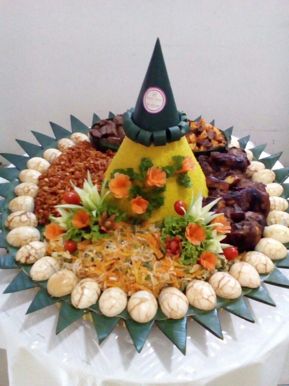 Tumpeng Cantik Pesan Tumpeng Ulang Tahun Nasi Kuning Tumpeng Wa 081293232007 Or Visit Http Dapurhana Com Seni Makanan Penyajian Makanan Dekorasi Makanan
