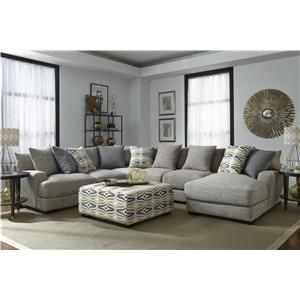 Tremendous Franklin Barton Sectional Sofa With 5 Seats And Chaise Bralicious Painted Fabric Chair Ideas Braliciousco