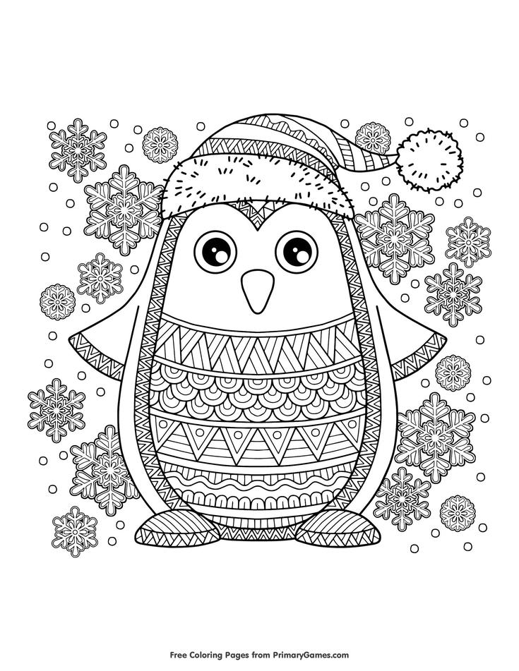 jolly penguin malvorlagen kostenlos druckbares ebook in