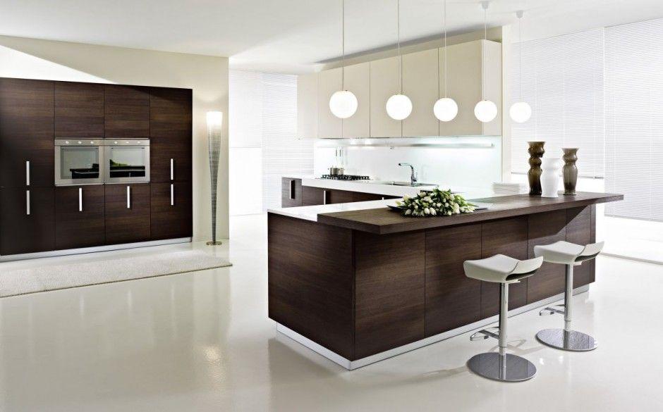 Cocinas con islas modernas cocinas modernas 6 for Interior cocinas modernas