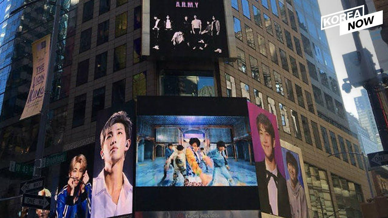 BTS to ring in 2020 with Times Square New Year's Eve