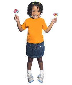 3301T Rabbit Skins Toddler Cotton T-Shirt Mandarin