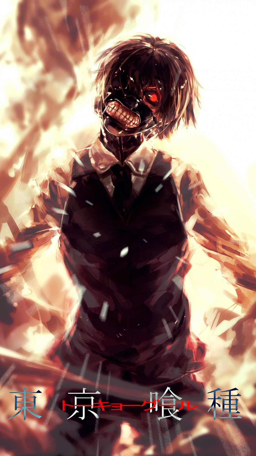 Tokyo Ghoul iPhone Wallpaper (76+ images) Аниме арт