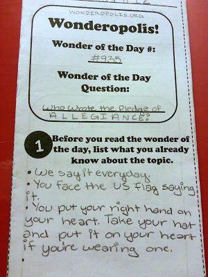 19+ Wonderopolis worksheet Ideas In This Year