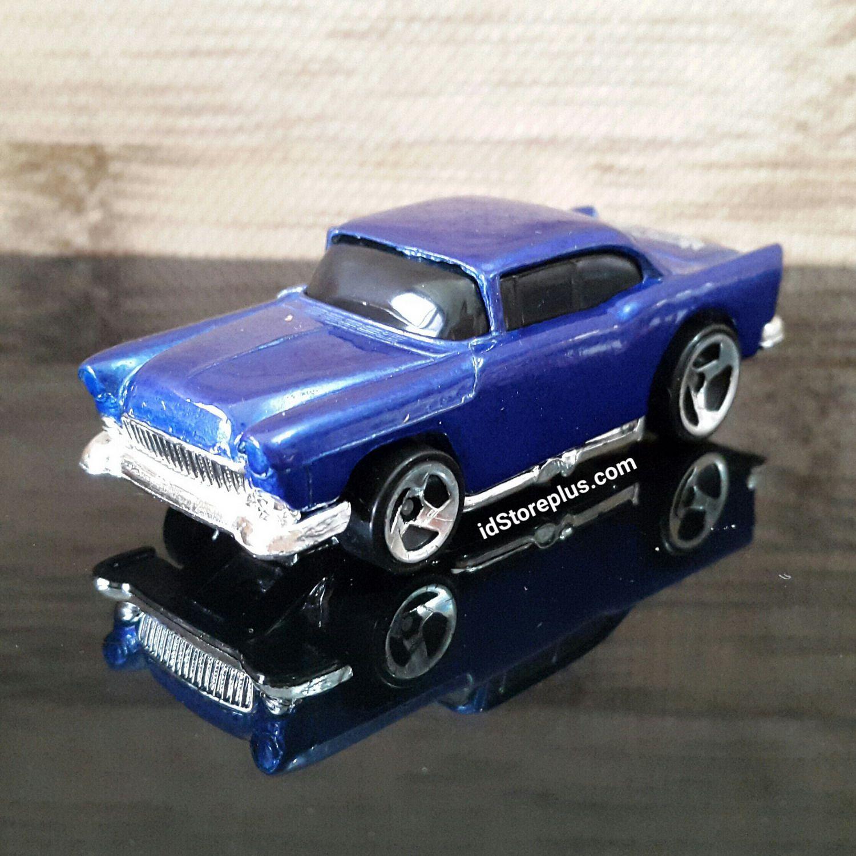 Hw hot wheels 2015 hw city 48 250 canyon carver police motorcycle - Hot Wheels Chevrolet 55 Chevy Blue Streak Series