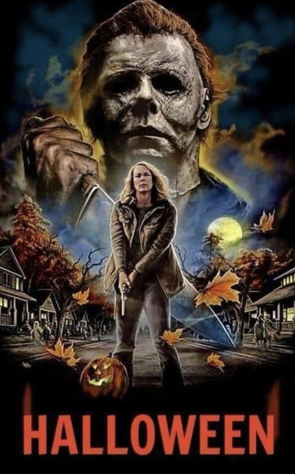 Halloween 2018 movie...🍿 Halloween cartoons, Michael