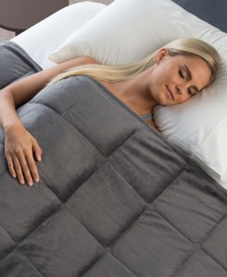 Sharper Image Calming Comfort 10lb Weighted Blanket Reviews