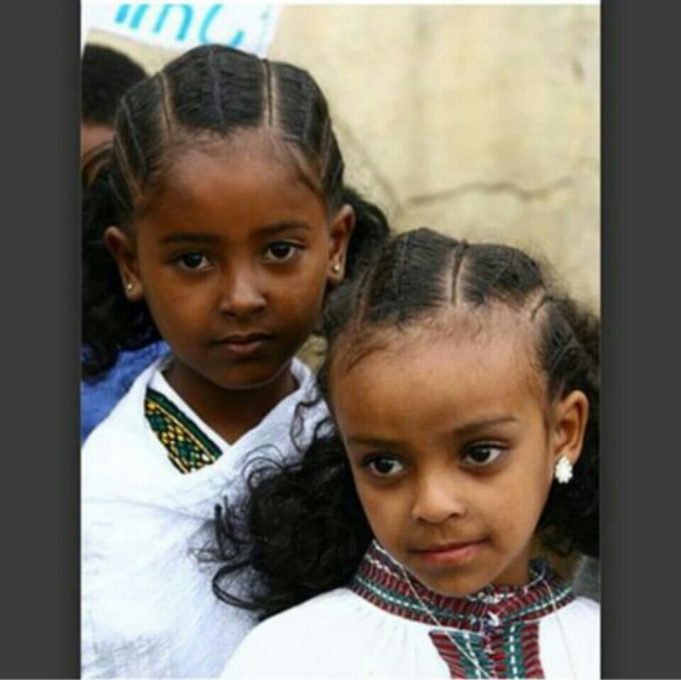 Wedding Hairstyles Ethiopian: Ethiopian Kids Hairstyle