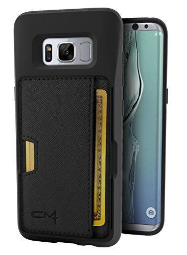 buy popular 5b5c9 43e62 Silk Galaxy S8 Wallet Case Q Card Case for Samsung Galaxy S8 Slim ...