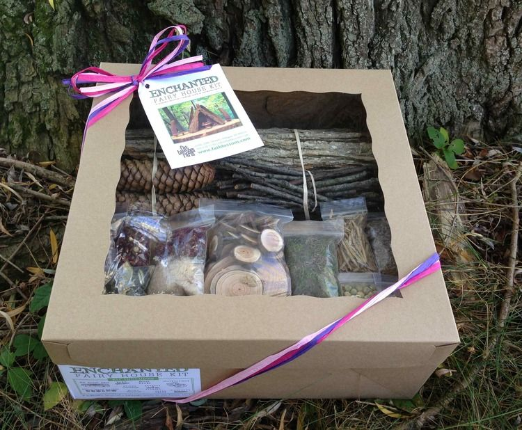 Gift Guide for the Creative Preschooler House kits Fairy houses