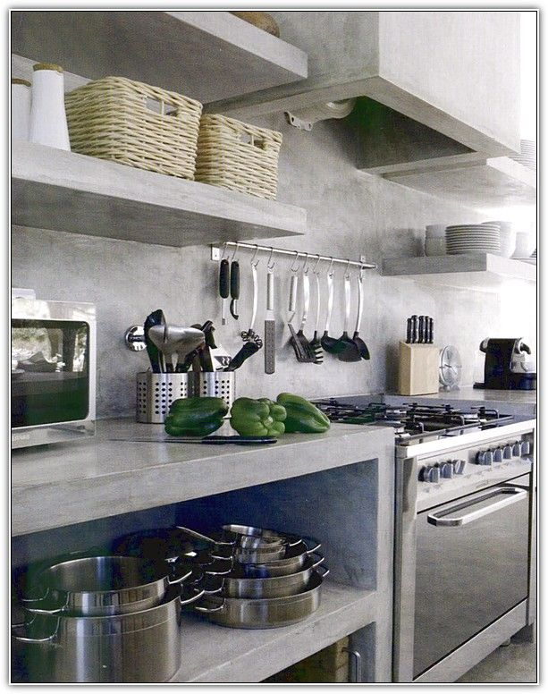 Best Open Lower Kitchen Cabinets With Curtain Open Base 400 x 300