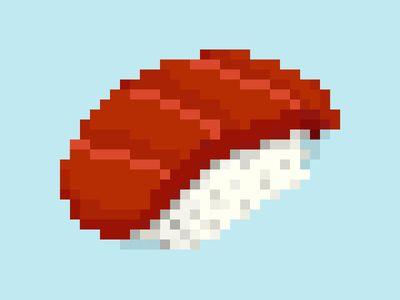 8-bit Tuna Nigiri
