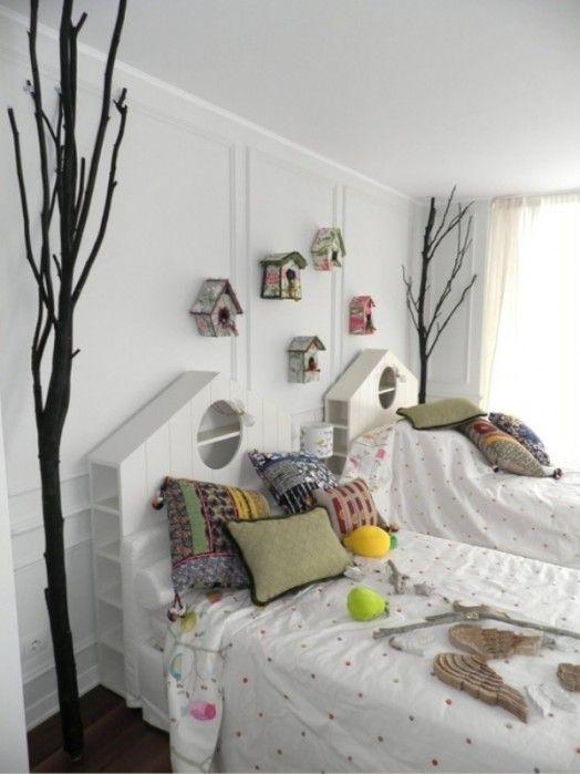 terminación de paredes y espaldar cama
