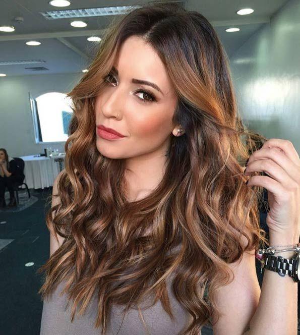 Balayage Cheveux Marron Caramel Les Meilleurs Mod Les Simple Coiffures Et Caramel