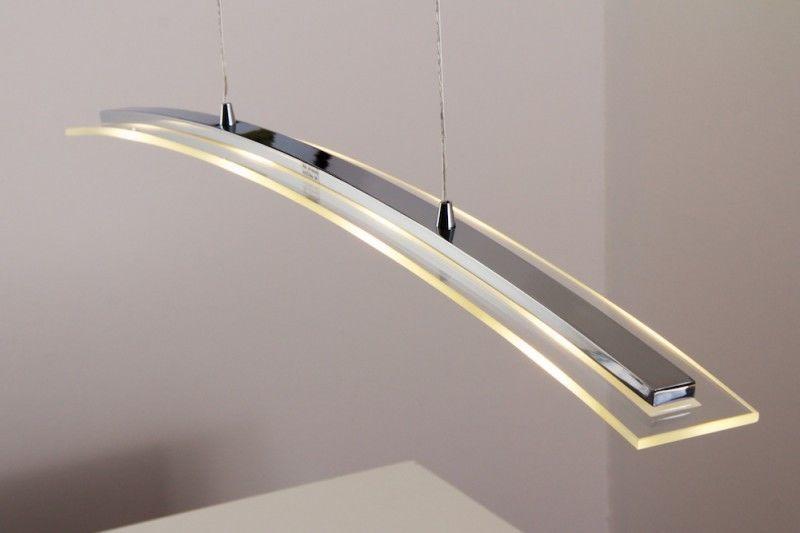 Lampe à Suspension Led Plafonnier Couleur Chrome Lustre Lampe De