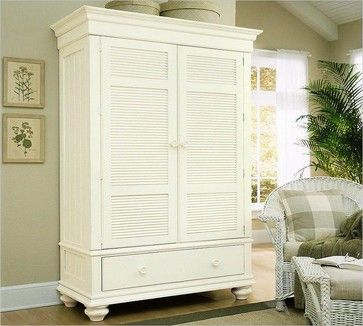 Stanley Cottage Revival Entertainment Armoire 243 27 35   Traditional    Dressers Chests And. White Bedroom ...