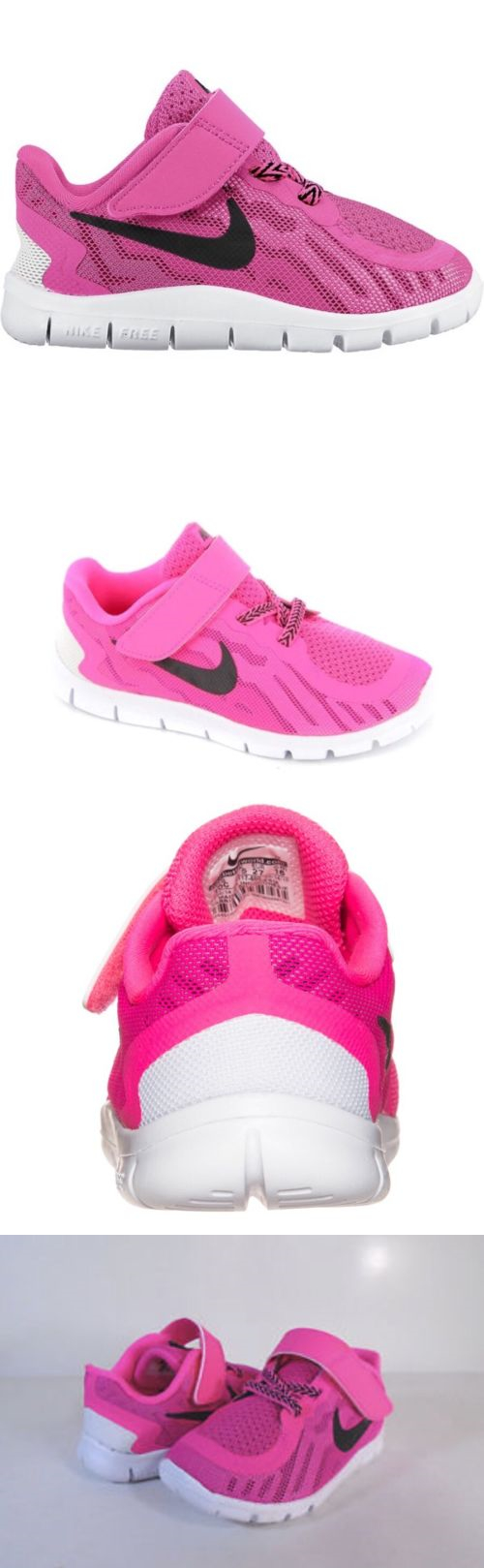 Baby Shoes 147285: Nike Free 5 (Tdv) Running Shoes 725117 600 Toddler Vivid