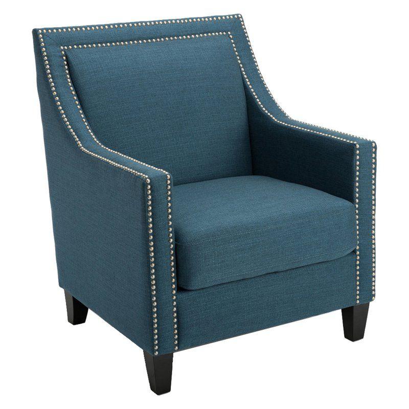 Best Homepop Edwin Arm Chair Blue K7039 Yyra002 12 Blue 400 x 300