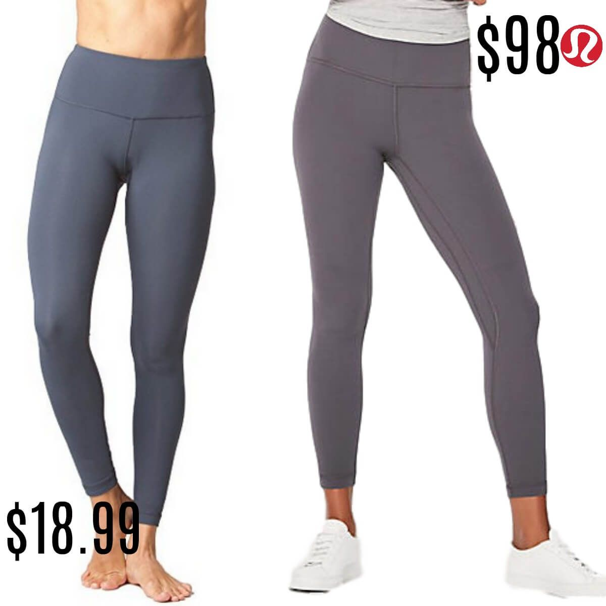 LuluLemon Dupes That Will Shock You, They Are That Good