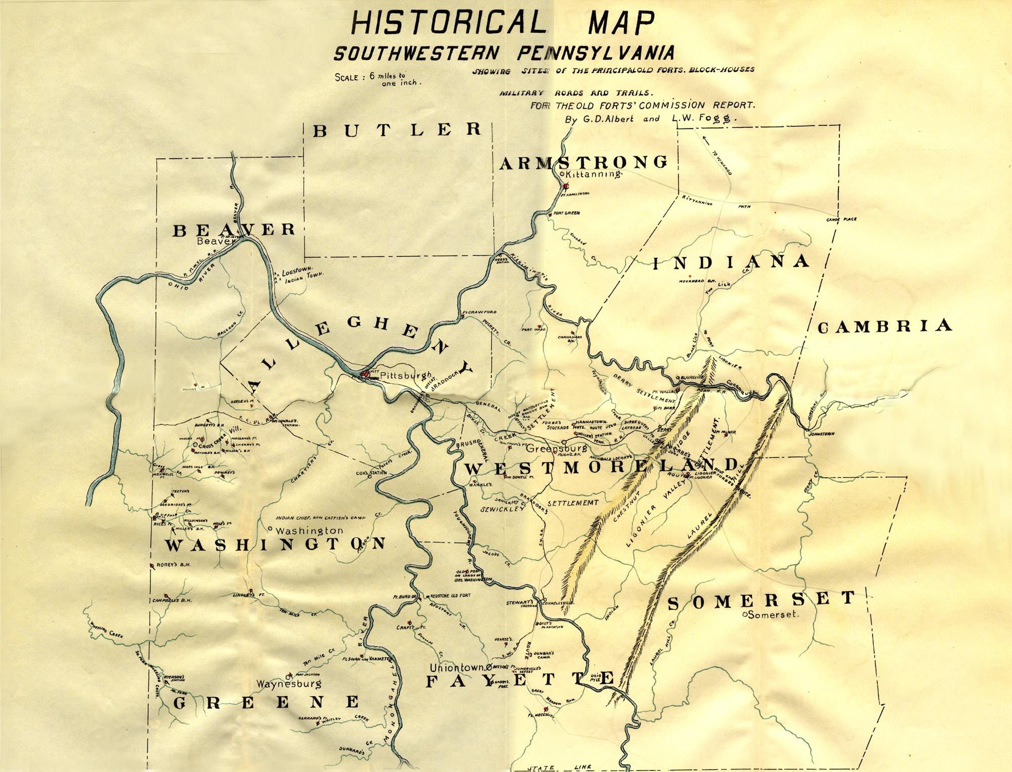 Historical Map of Southwestern Pennsylvania | Cartography in ... on map of ms, map of ohio, map usa, map of ia, map of pennsylvania with cities, map of tn, map of harrisburg pennsylvania, google maps pa, map of colonial pennsylvania, map of new york, map of wi, map of panama, county map pa, map of il, map of az, map of oh, map of wv, map of western pennsylvania, map of mn, map of philadelphia,