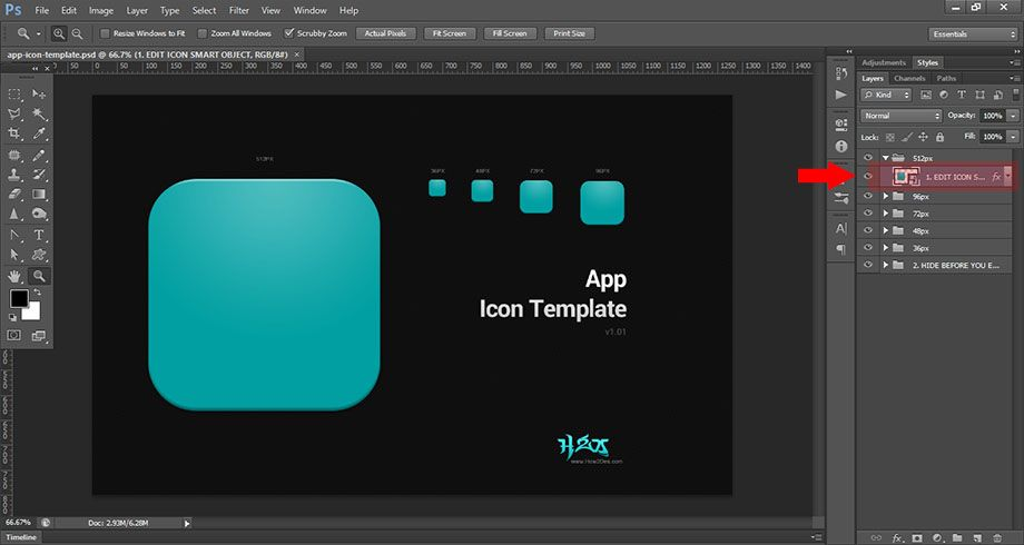Free Psd App Icon Template App Icon App Icon