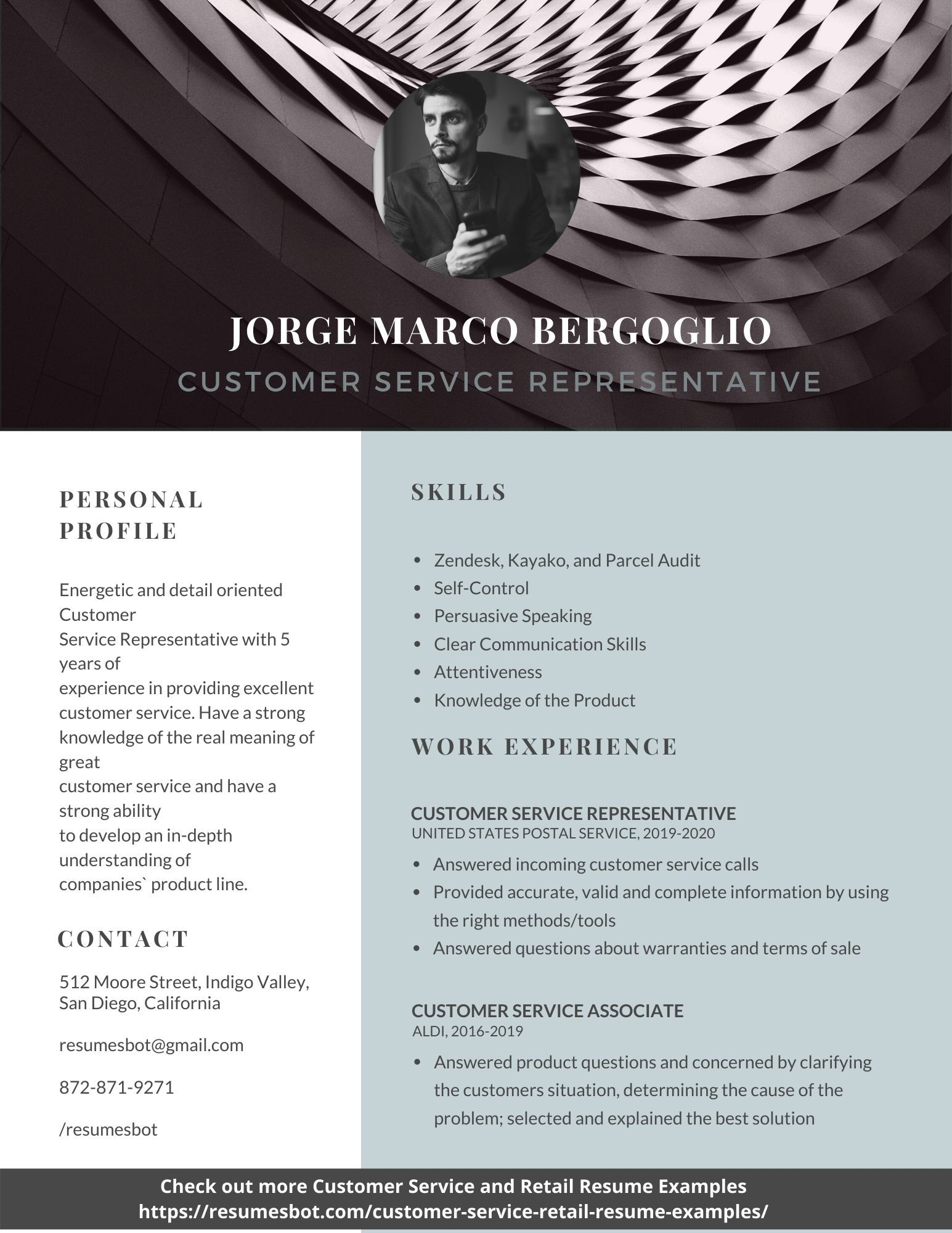 customer service resume samples and tips [pdf+doc free cv word format creating a without work experience curriculum vitae for job application