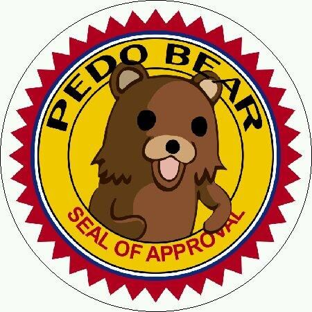 PedoBear | Selo de aprovação, Memes, Selos