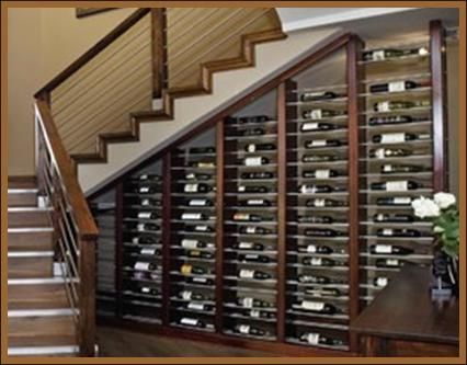 Under The Stairs California Wine Cellar Conversion Tips