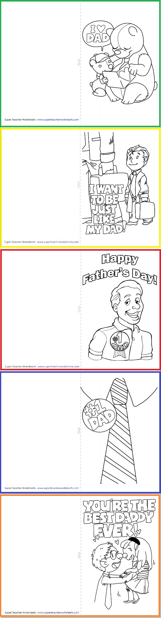 Almost time for Father\'s Day! | Holidays - Super Teacher Worksheets ...