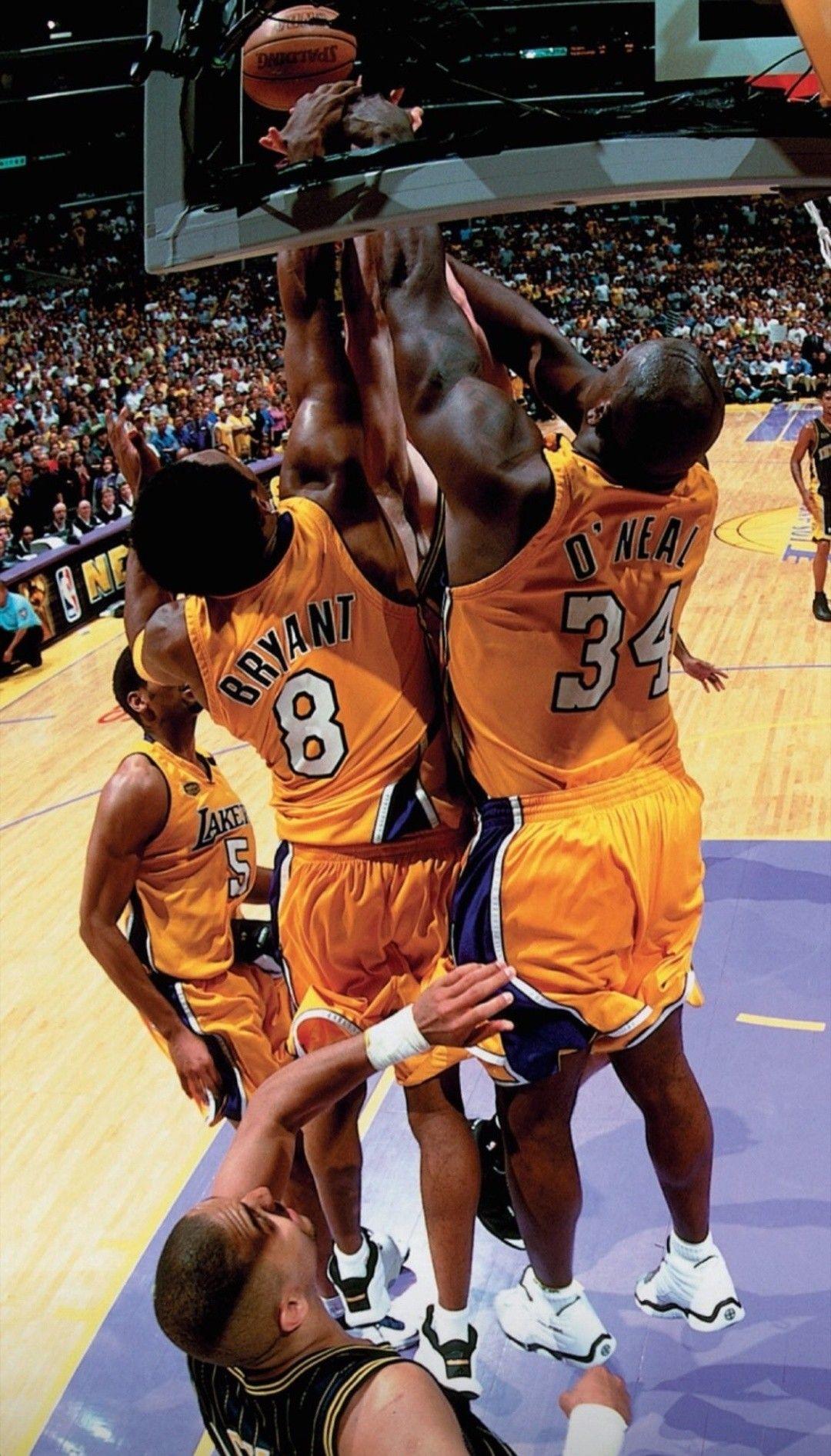 Kobe And Shaq Wallpaper Mvp Basketball Basketball Photography Shaquille O Neal