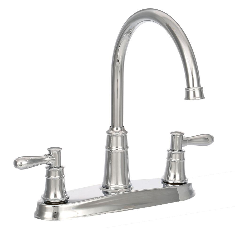 Pfister Harbor High-Arc 2-Handle Standard Kitchen Faucet in ...