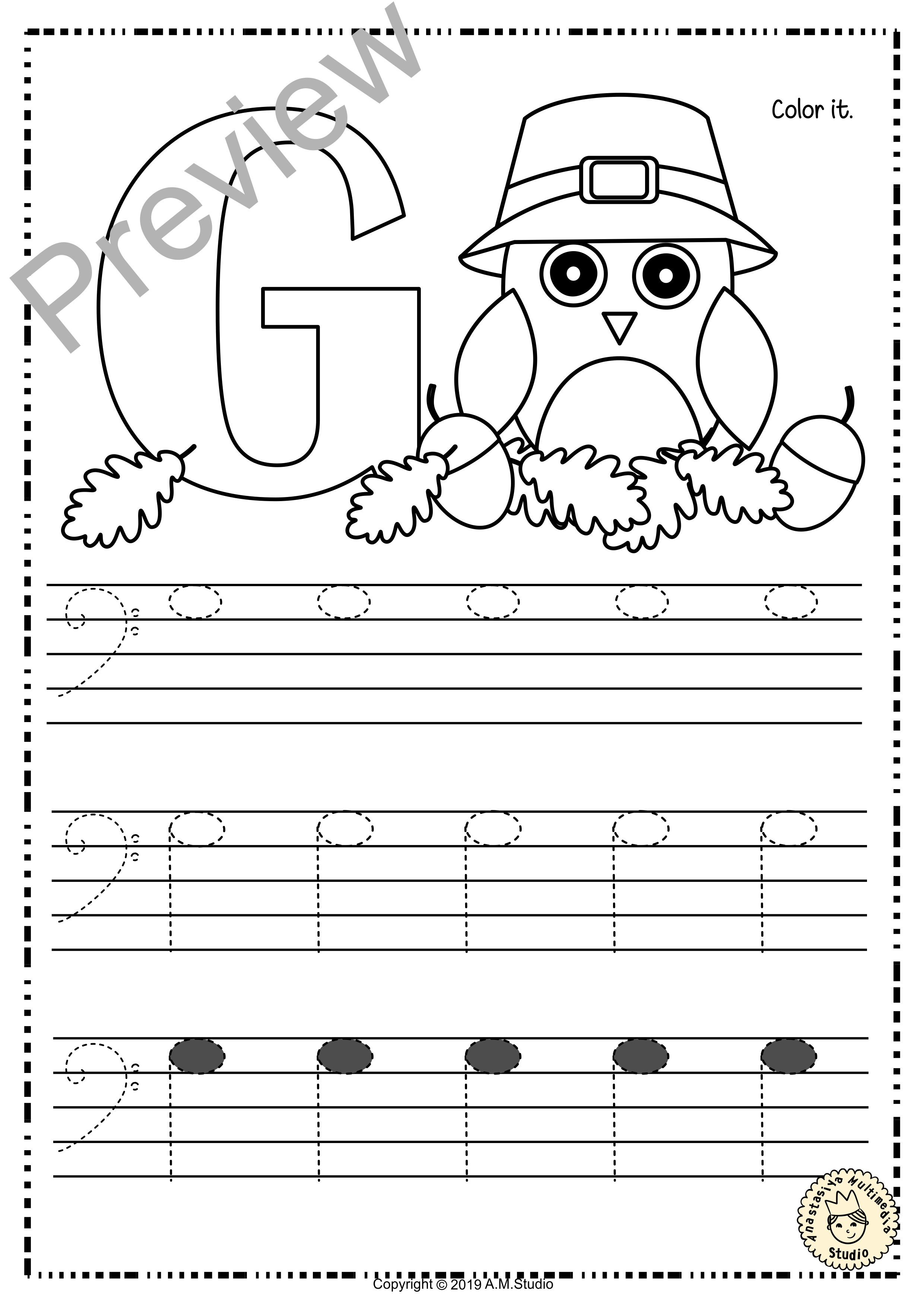 Bass Clef Tracing Music Notes Worksheets For Fall With