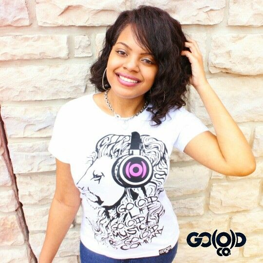 Women's fit GO(O)D Lion tee! Available at www.GoodCoApparel.com #iKeepGoodCo