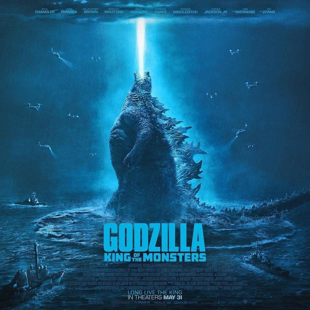 Pin By Izac Rodriguez On Godzilla Movie Monsters Godzilla New Poster
