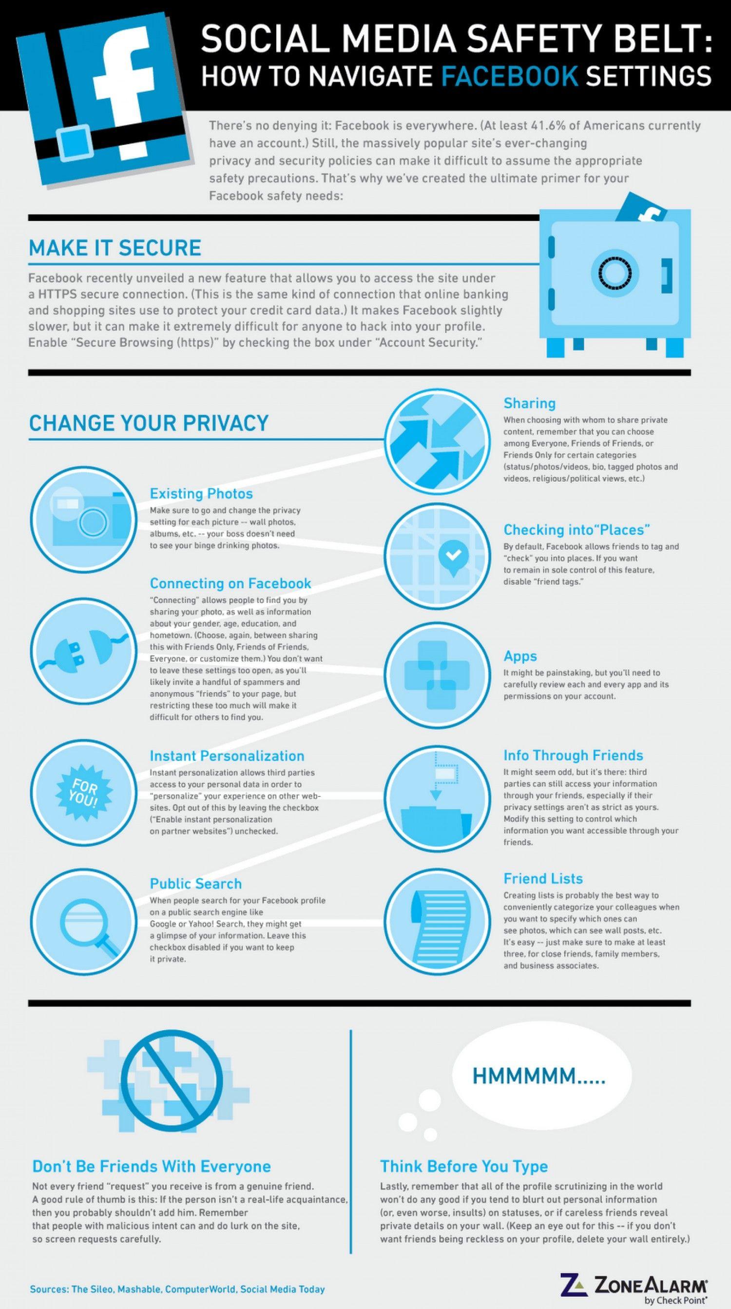Social Media Safety Belt How To Navigate Facebook
