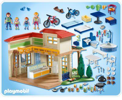 Playmobil Casita De Vacaciones  Just For Kids