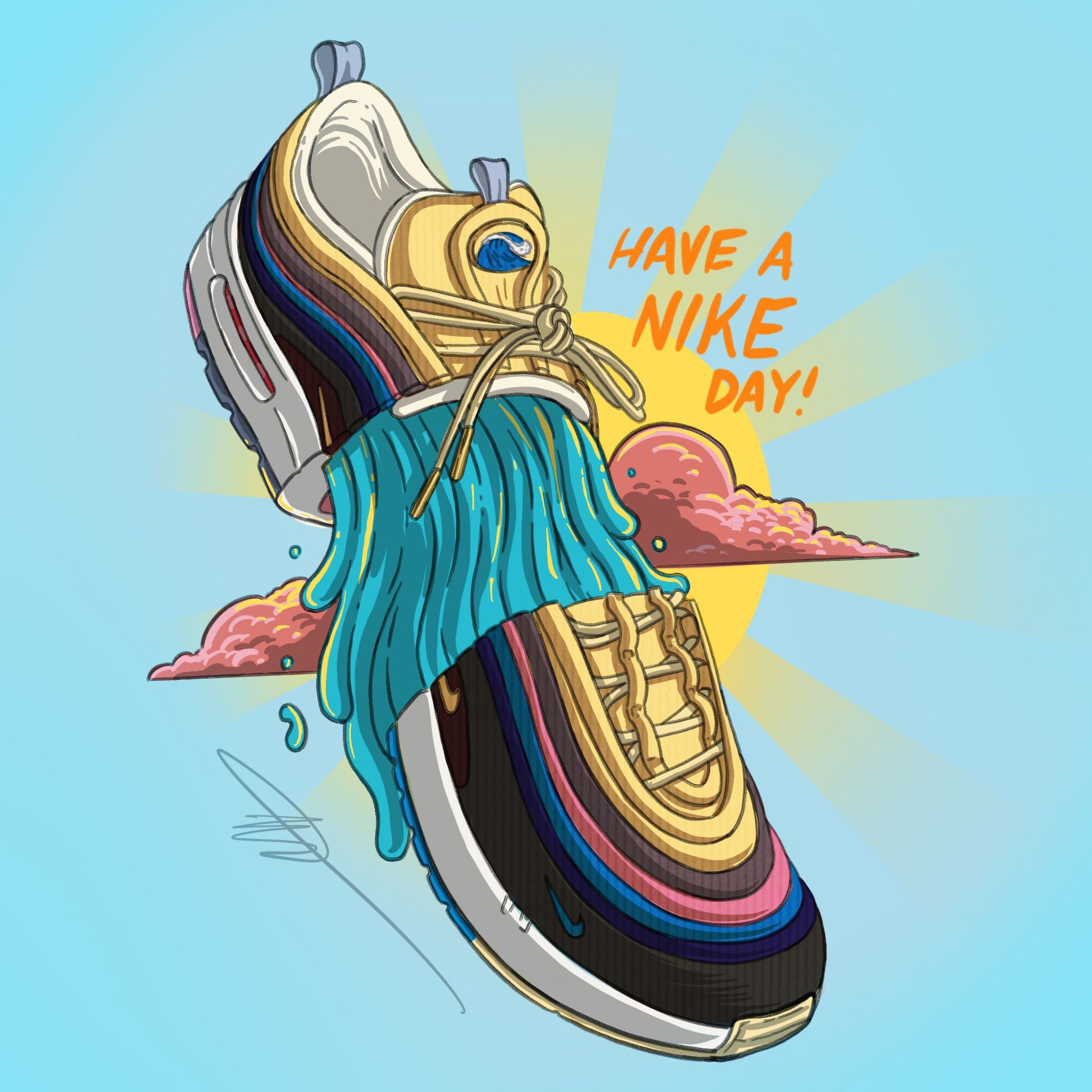 Nike Air Max 97 X 1 Sean Wotherspoon Vote Forward Gdz Merch2