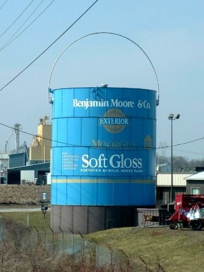 World's Largest Paint Can - Shippensburg, PA Posted by