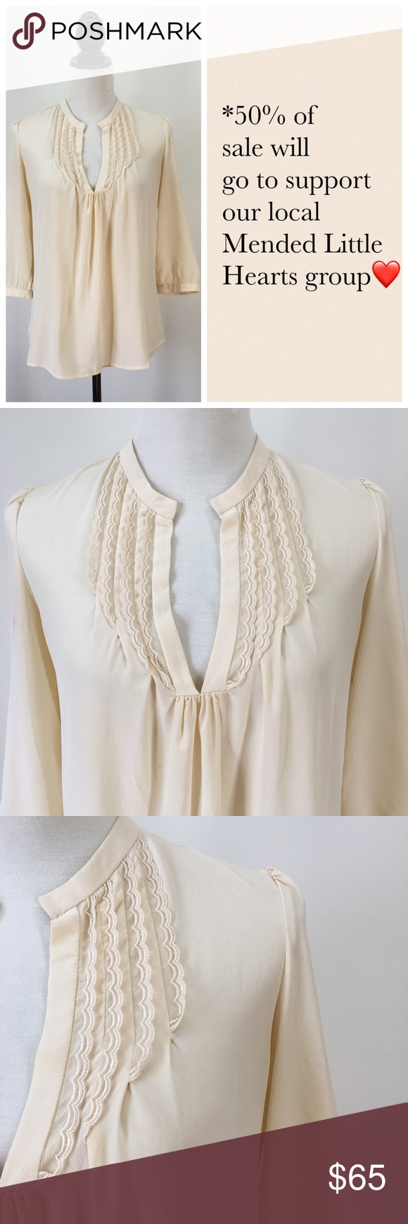 3 4 sleeve silk saree blouse designs ulla johnson ivory pin tuck silk blouse  ulla johnson boho style
