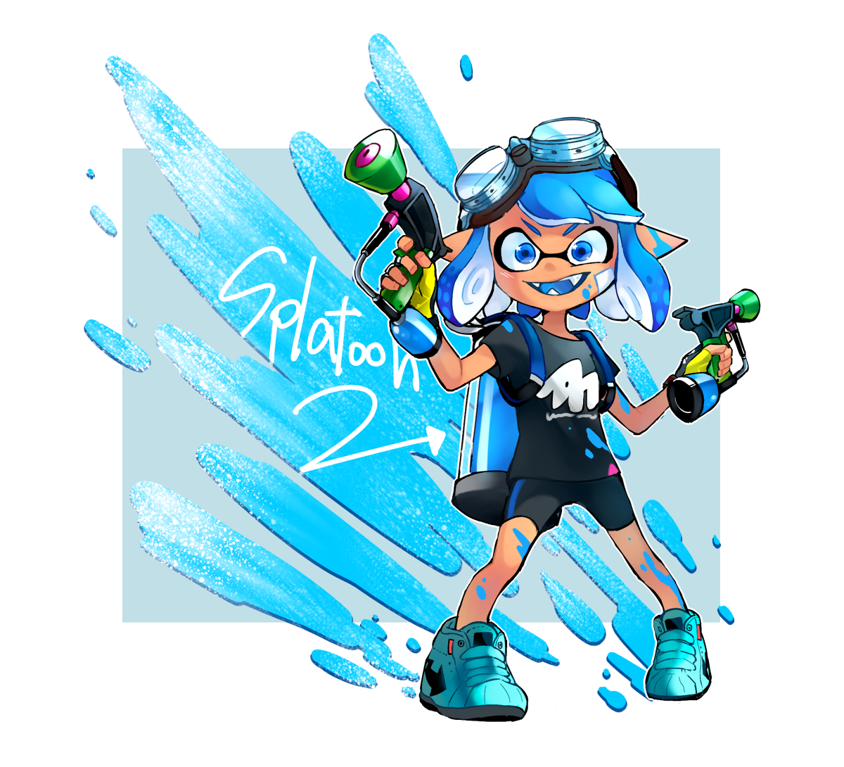 Splatoon 2 Fan Art Splatoon Nintendoswitch Fanart