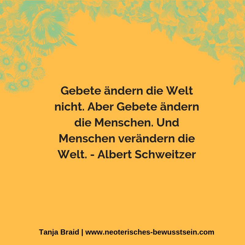 Albert Schweitzer Gebete Spirituelle Zitate Einstein