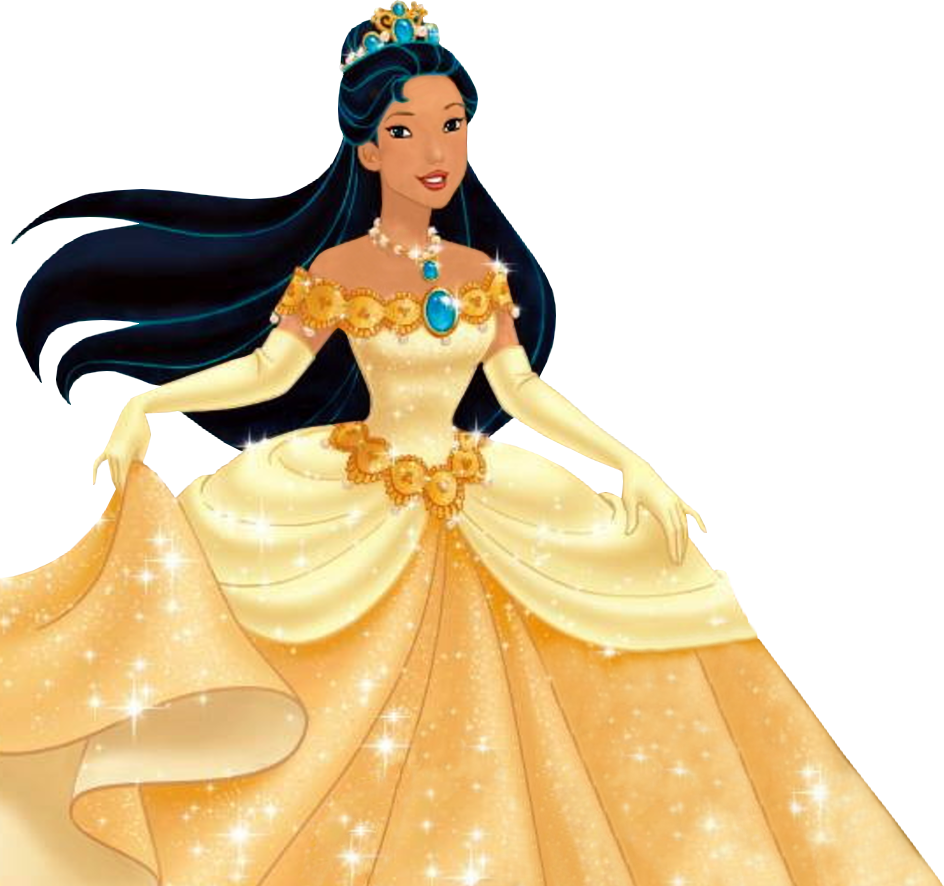 pocahontas 2 ball gown | Princess deluxe ballgown - Disney Princess ...