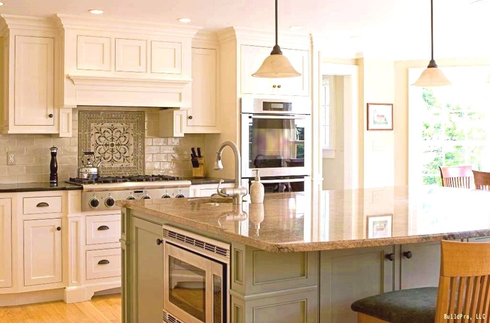Kitchen Remodel Tips Be Cautious Of Hanging Newly Acquired Art Too Low Or Too High On T Traditional White Kitchen Cabinets Kitchen Design Kitchen Inspirations