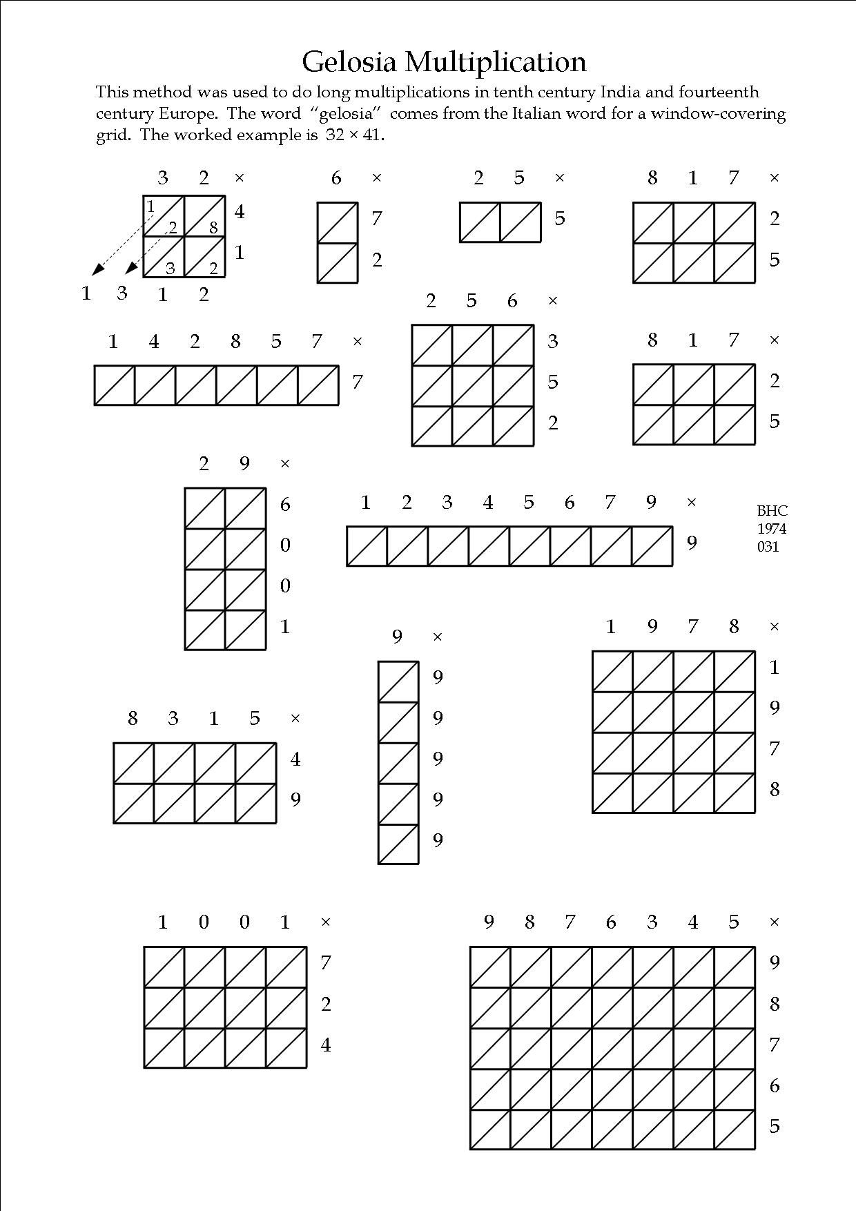 A Nice Way To Improve Number Skills  Maths Worksheets