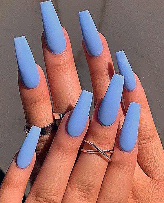 Photo of Easy & Cutest Sky Blue Nail Art Ideas for 2019 | Stylesmod