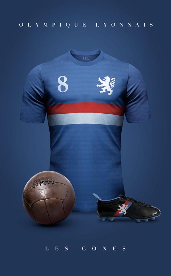 Designer cria camisas clássicas para grandes clubes da América do ... ee5e2b4380541