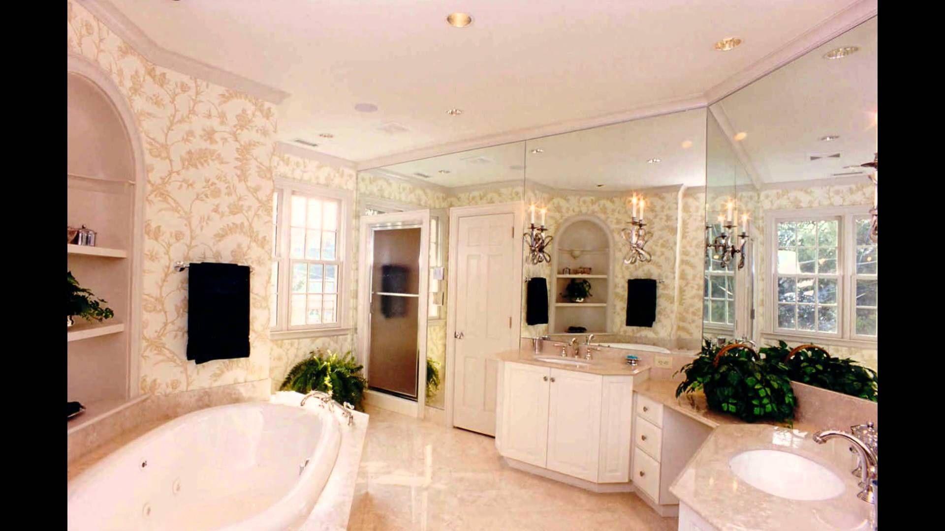 Master bathroom hardwood floors, large tub, his and her
