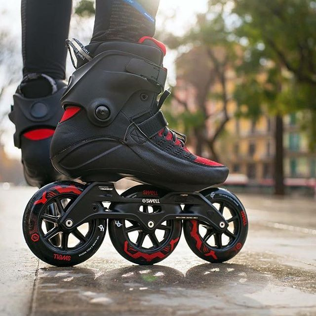 The Top Of The Line The Powerslide Swell Trinity 125 Dark Lava Fitness Inline Skate Possibly The Best Skate Ever M Inline Skating Rollerblading Inline Skate