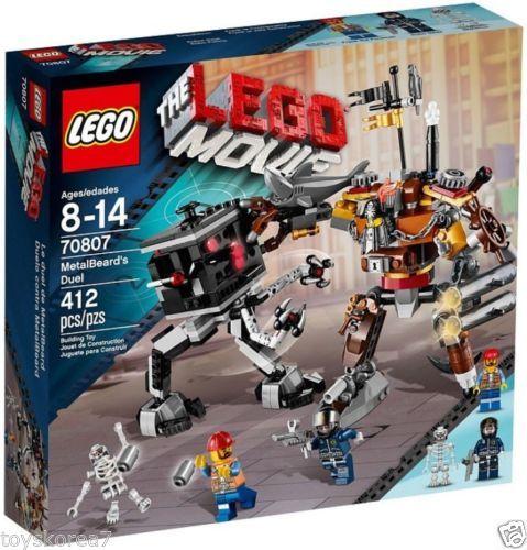LEGO The LEGO Movie 70807 MetalBeard's Duel NEW Factory Sealed
